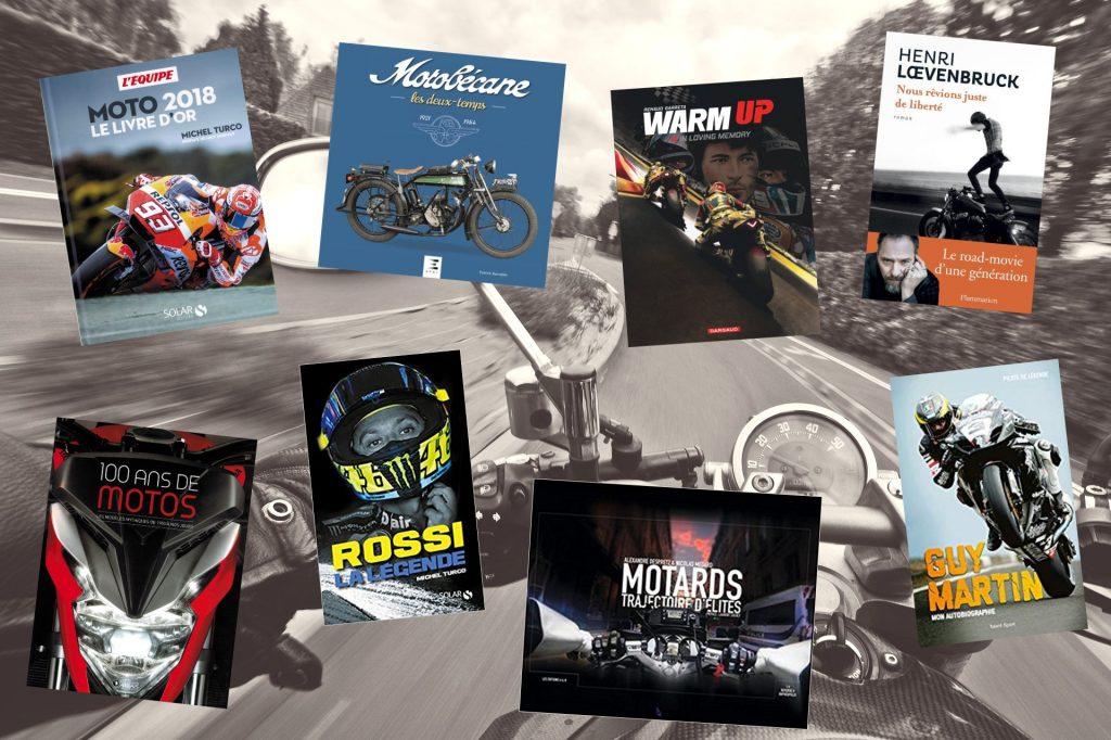 bibliothèque moto : notre sélection de livres moto