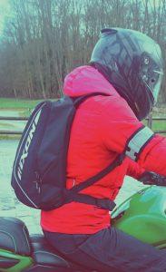 essai du sac à dos moto IXON X-STREET