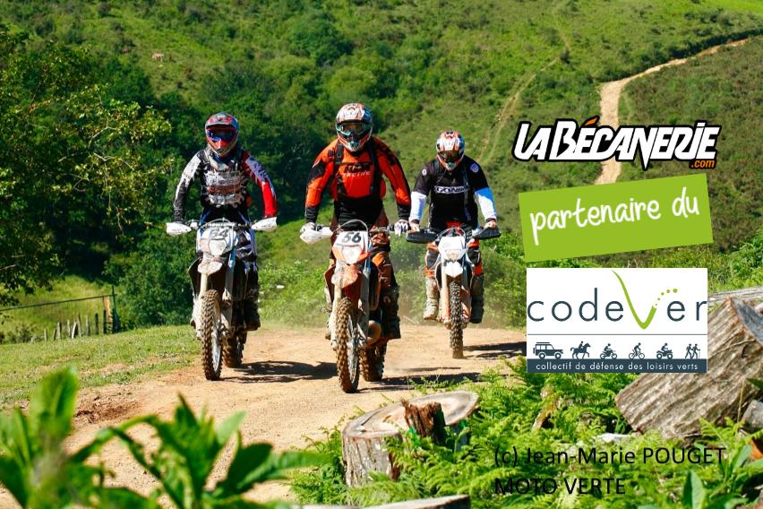 partenariat CODEVER - La Bécanerie ©photo Jean-Marie POUGET - Moto-Verte