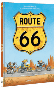 BD moto Route 66 Tome 1 - Bamboo Edition