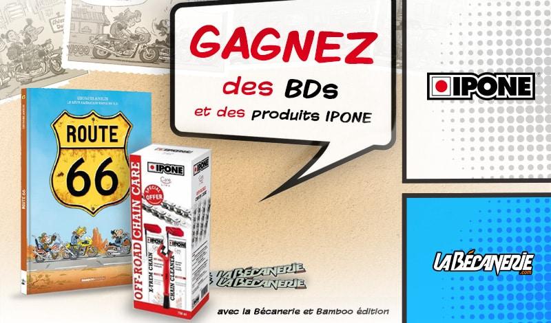 Concours BD Route 66 avec La Bécanerie et IPONE