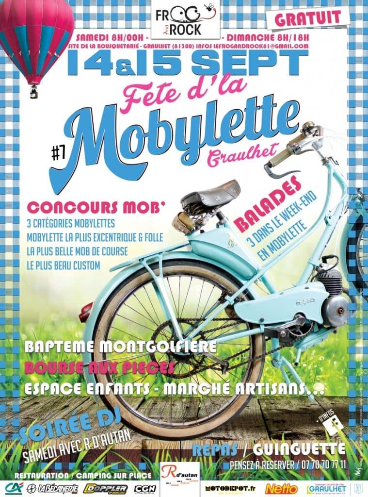 Fête de la mobylette 2019 affiche