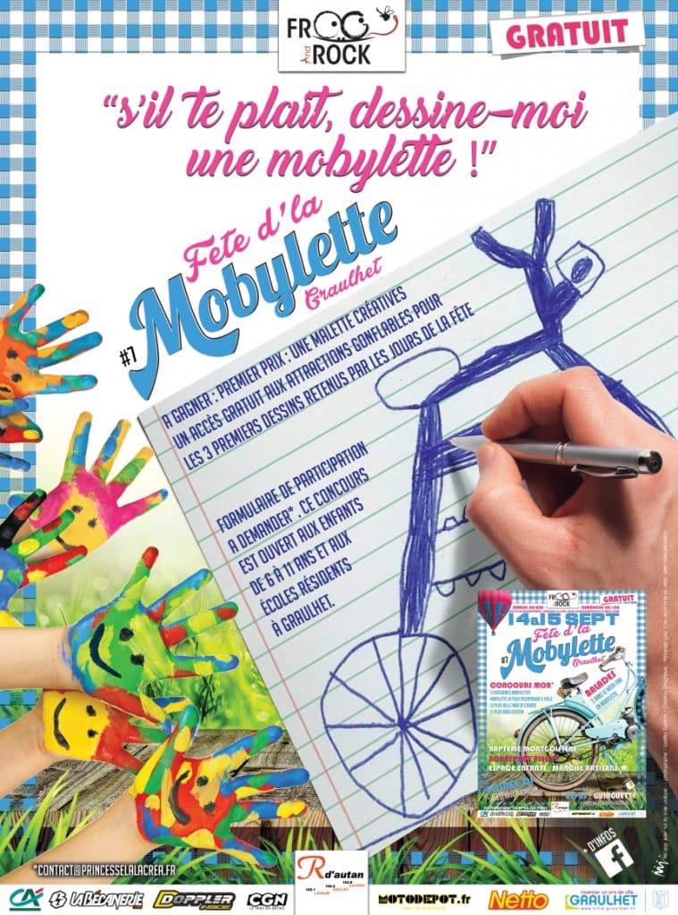 Fête de la mobylette 2019 - concours de dessin