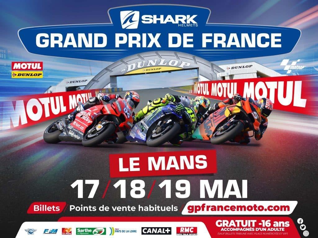 Shark Helmets Grand Prix de France Moto 2019