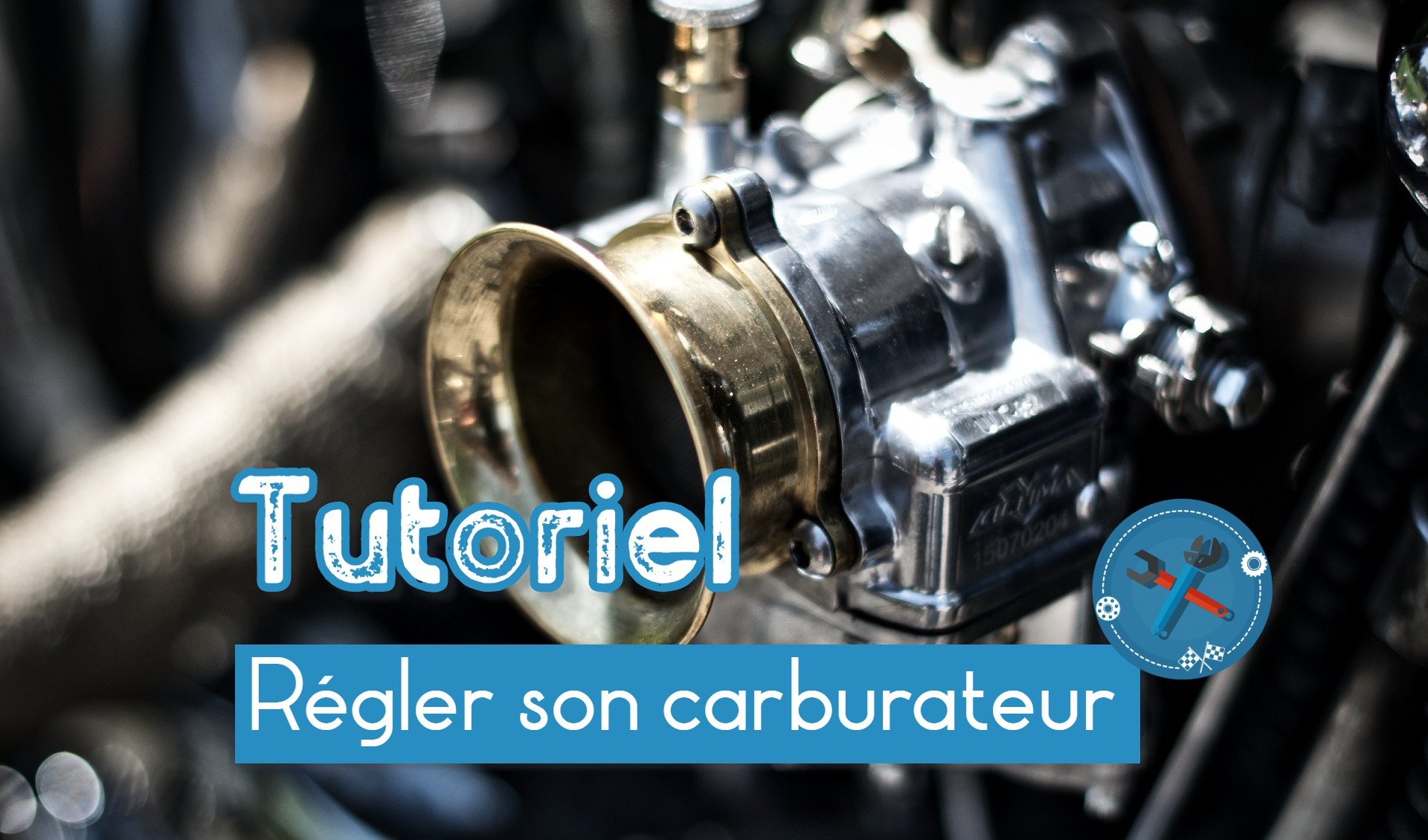 réglage carburateur moto