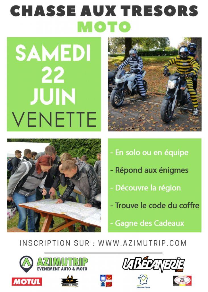 Chasse aux trésors Venette 2019 Azimutrip & La Bécanerie