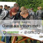 Chasse aux trésors 100% moto le 22 juin