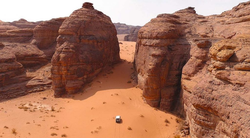 Dakar 2020 MONTAGNES DE ALULA © Fahad Altrisy, SeeSaudi