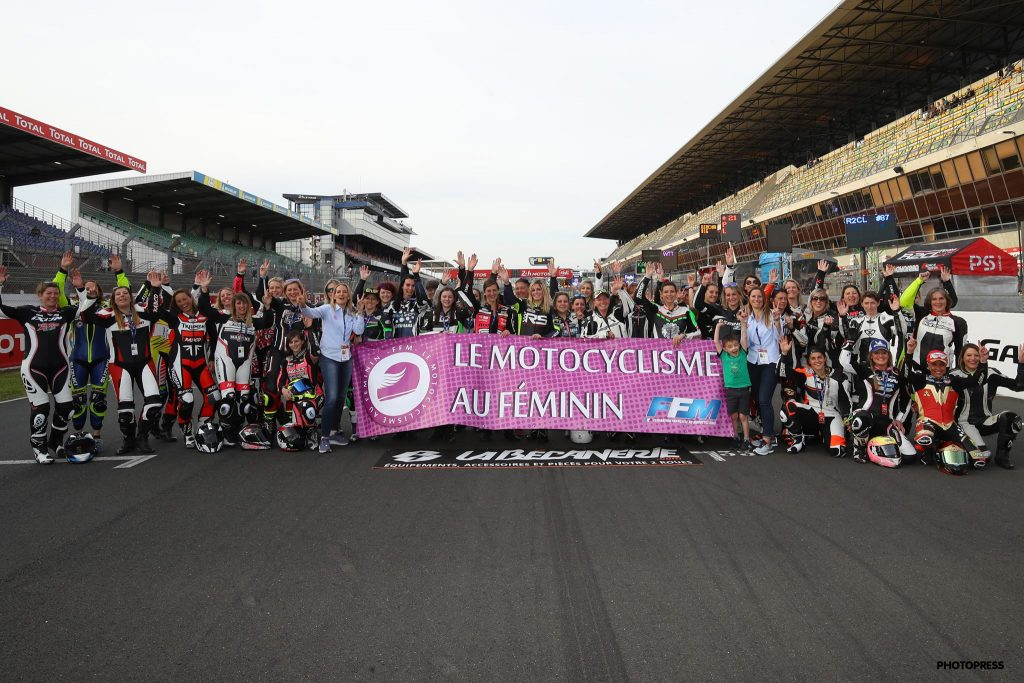 Women's Cup 2019 Le Mans photo de groupe