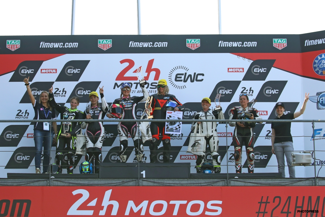 Women's Cup 2019 Le Mans podium final