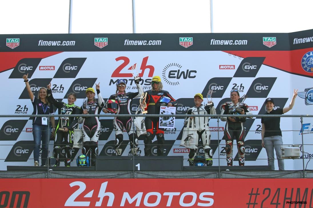 Women's Cup 2019 Le Mans podium final