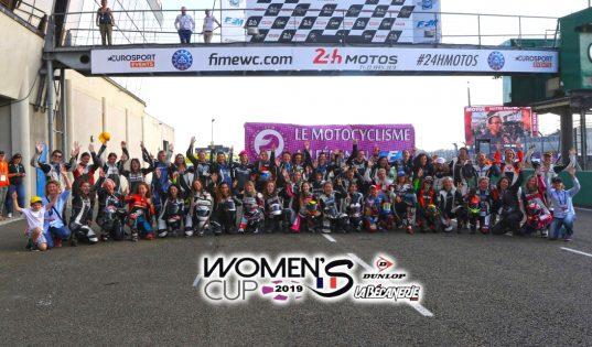 Photo de groupe Women's Cup au Mans en 2018 ©Photopress