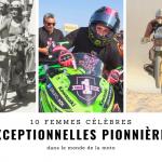 10 motardes célèbres, entrées dans l'histoire