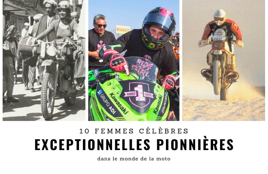 10 motardes célèbres