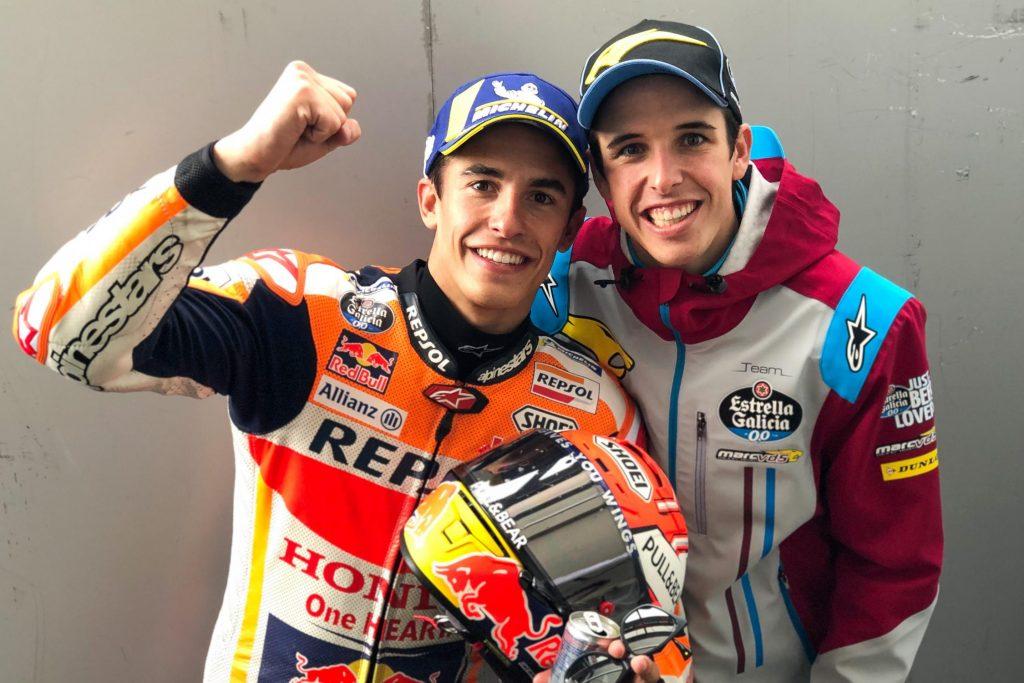 Marc et Alex Marquez GP de France 2019 ©motogp.com