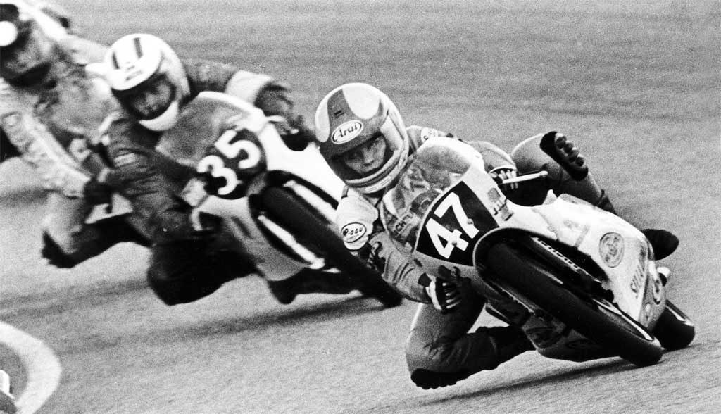 Taru Rinne, 1ère femme à marquer des points en championnat du monde de vitesse moto