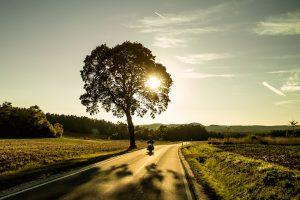Une sortie à moto