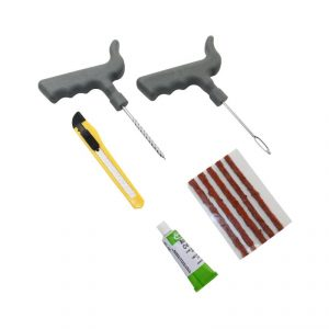 kit réparation à mèches pour pneu tubeless