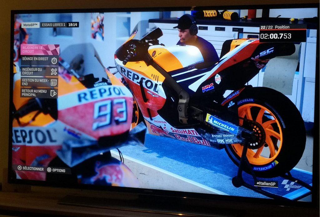 Des dégâts bien réels dans MotoGP19