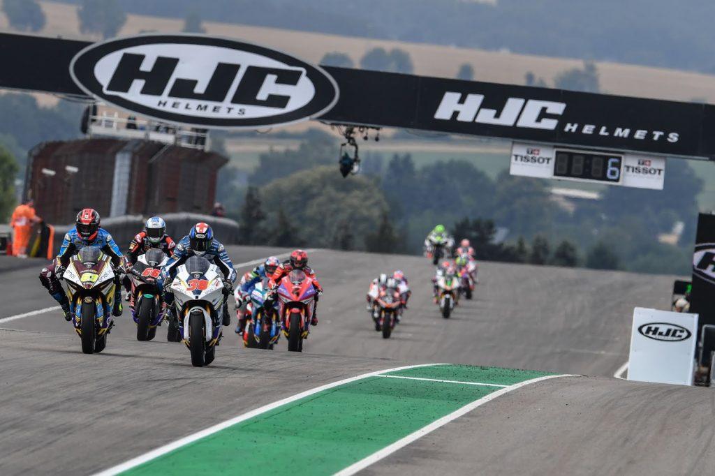 1ère course MotoE de l'histoire ©motogp.com