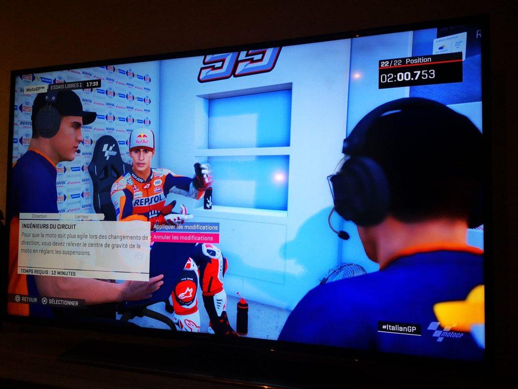 Ingénieur circuit MotoGP19