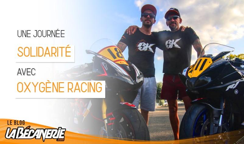 Journée solidarité au Mans pour Oxygène Racing lors du Promosport
