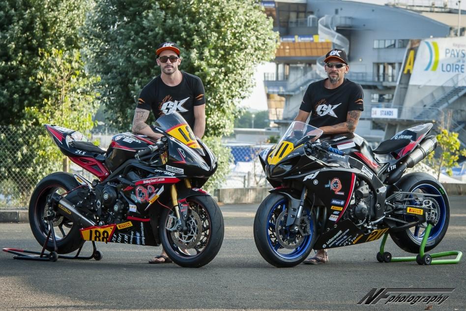 Les pilotes Oxygène Racing ©NFphotography