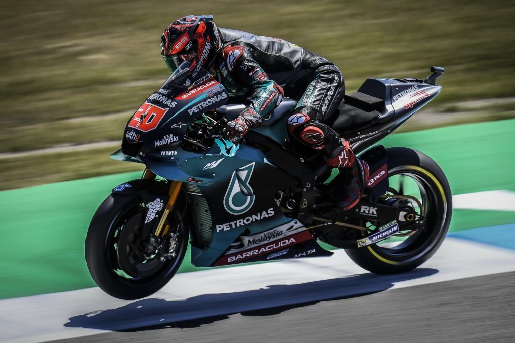 MotoGP 2019 Assen - Quartararo sur le podium