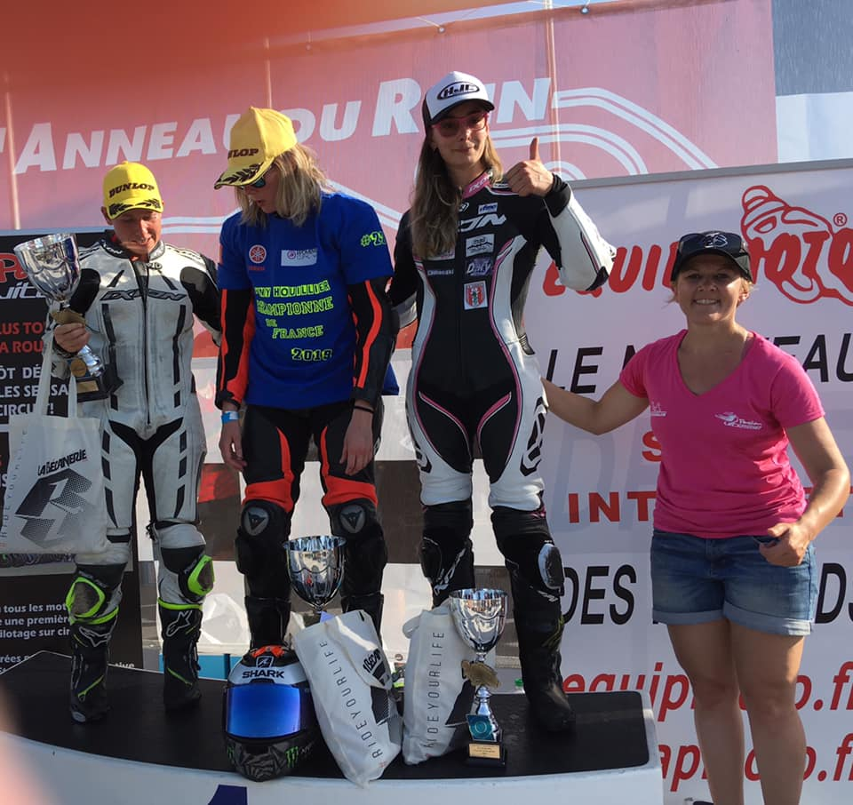 Podium 1000cc Women's Cup 2019 course 4