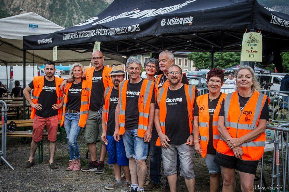 bénévoles du rallye des Meules de Savoie 2019 ©Maze Sébastien
