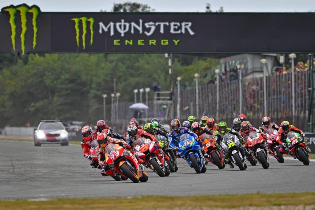 Départ du MotoGP de Brno 2019
