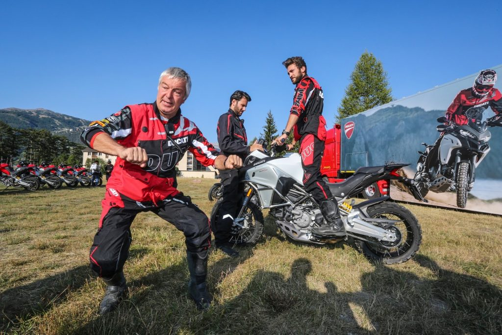 Ducati Riding Experience ©Alpes Aventure Motofestival