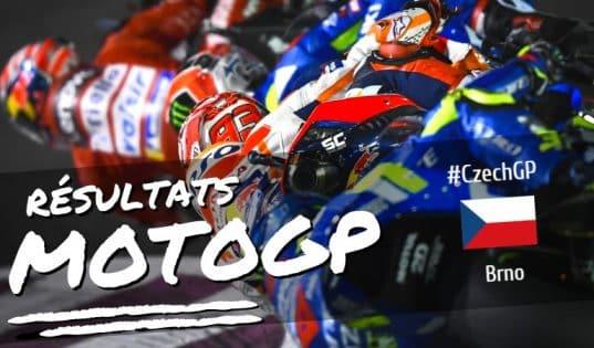 Résultat MotoGP Brno 2019