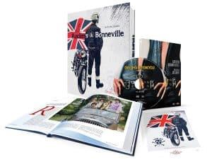 livre moto Rockers et Bonneville