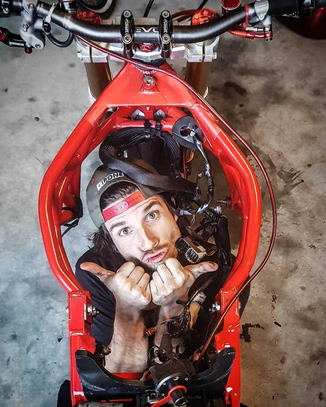 moto sans moteur ©Romain Jeandrot