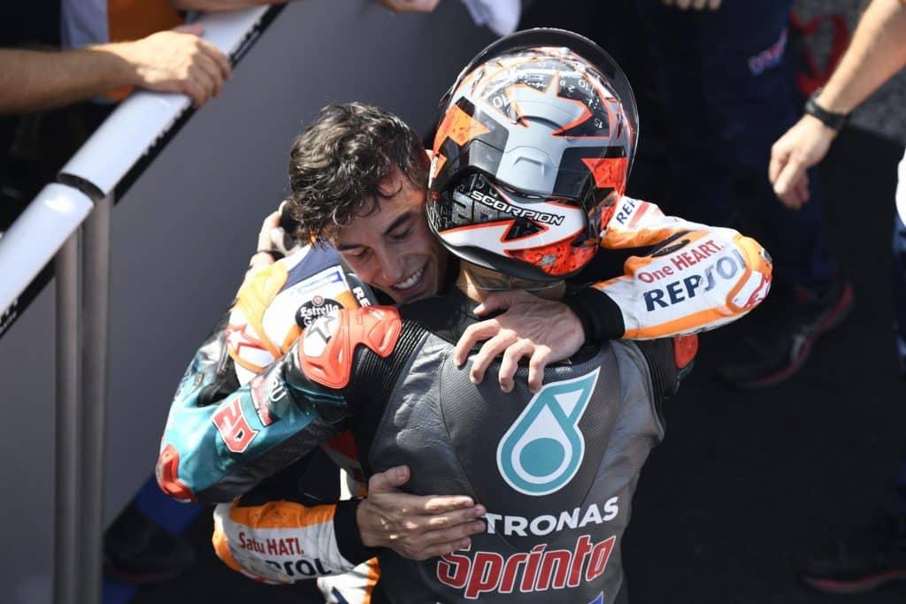 Marc Marquez et Fabio Quartararo