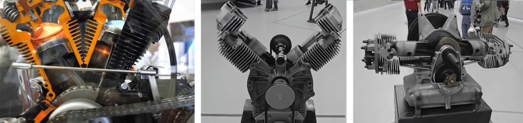 différentes architectures de moteurs bicylindre