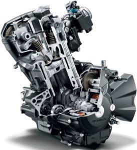 moteur de moto monocylindre