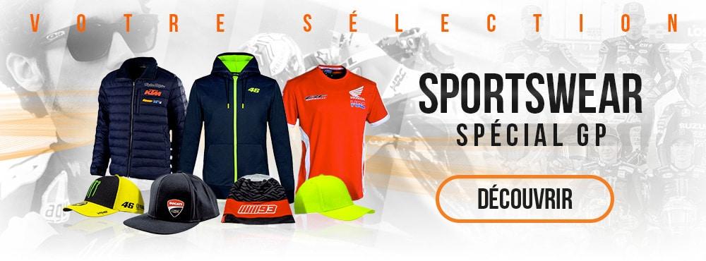 Tous les produits sportswear MotoGP sur www.la-becanerie.com