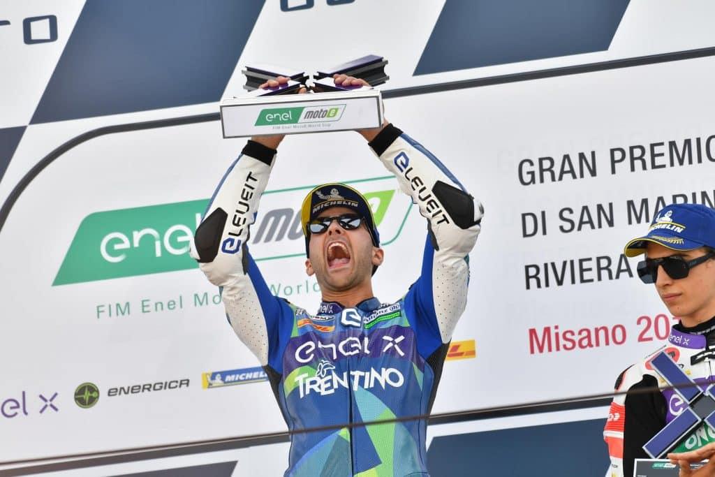 victoire de Matteo Ferrari en MotoE