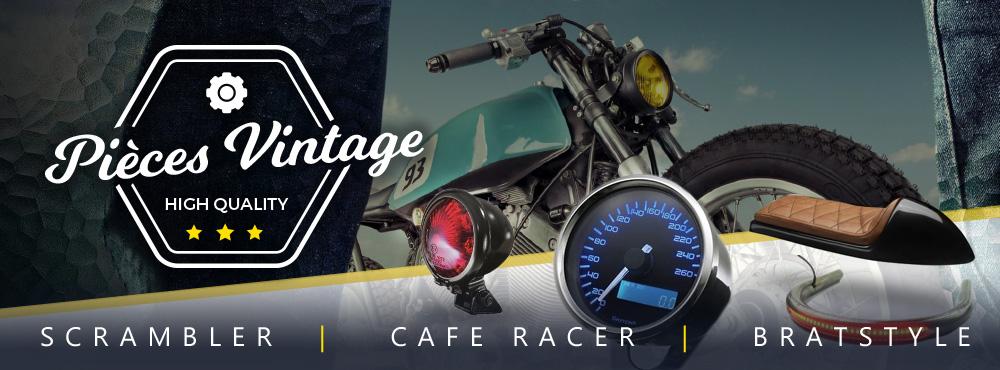 Equipez et entretenez vos motos vintage sur La Bécanerie