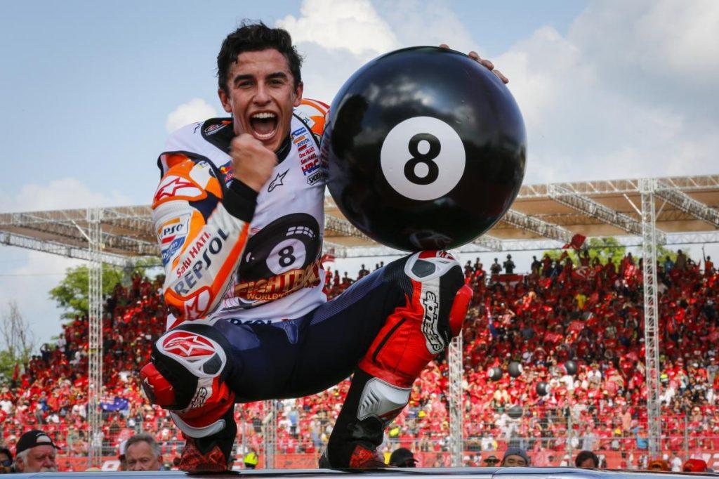 Marc Marquez champion du monde MotoGP 2019