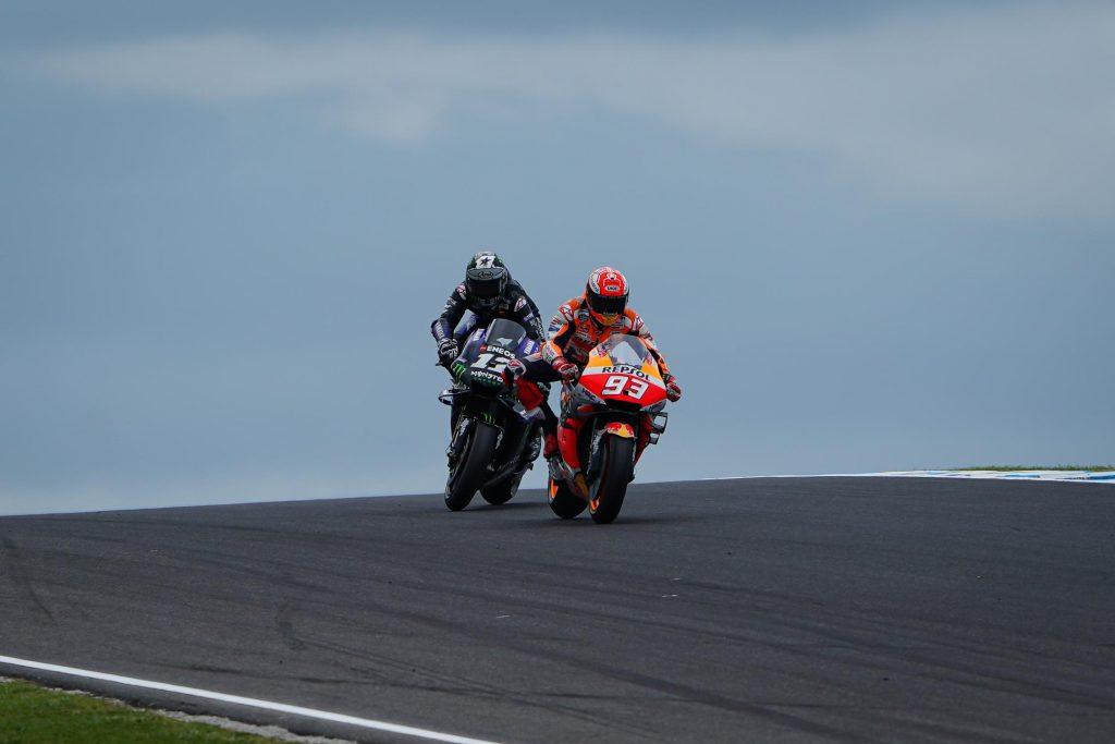 Marquez devant Viñales - MotoGP Australie 2019