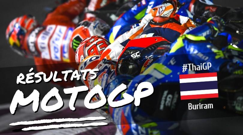 MotoGP 2019 Thaïlande