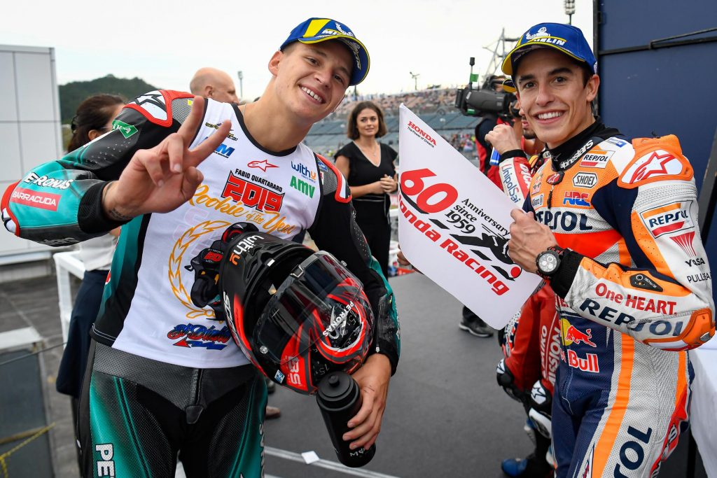 Quartararo et Marquez MotoGP Japon 2019 ©motogp.com