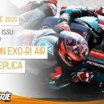 Le Scorpion EXO-R1 AIR Replica Fabio Quartararo sur La Bécanerie