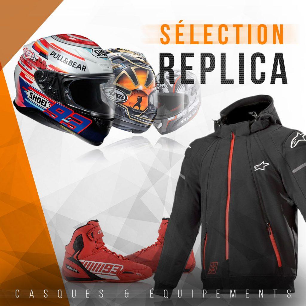 Produits replica MotoGP en vente sur www.la-becanerie.com