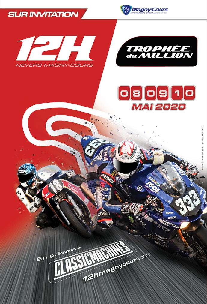affiche 12h magny-cours 2020