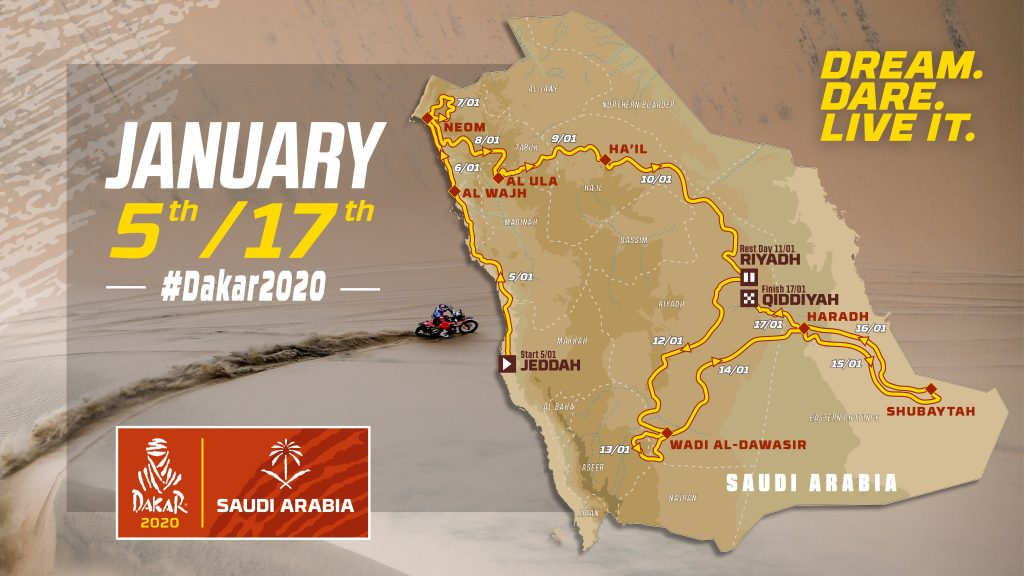 Parcours Dakar 2020 Chapitre 3