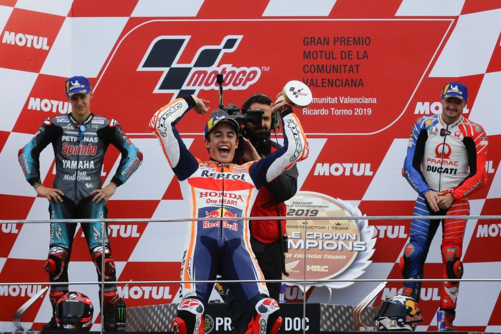 podium Valence 2019